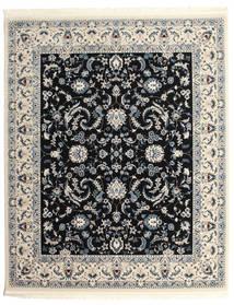 Nain Florentine - Mörkblå Matta 250X300 Orientalisk Ljusgrå/Svart Stor ( Turkiet)