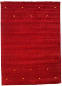 Gabbeh Loom Two Lines - Röd Matta 240X340 Modern Röd/Mörkröd (Ull, Indien)
