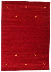 Gabbeh Loom Two Lines - Röd Matta 160X230 Modern Röd/Mörkröd (Ull, Indien)