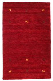 Gabbeh Loom Two Lines - Röd Matta 100X160 Modern Röd/Mörkröd (Ull, Indien)