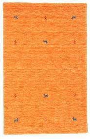 Gabbeh Loom Two Lines - Orange Matta 100X160 Modern Orange (Ull, Indien)