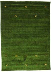 Gabbeh Loom Two Lines - Grön Matta 160X230 Modern Mörkgrön (Ull, Indien)