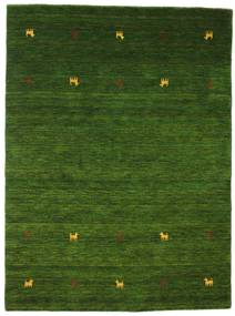 Gabbeh Loom Two Lines - Grön Matta 140X200 Modern Mörkgrön (Ull, Indien)