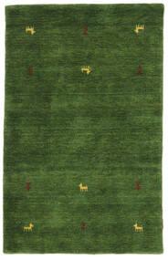 Gabbeh Loom Two Lines - Grön Matta 100X160 Modern Mörkgrön (Ull, Indien)
