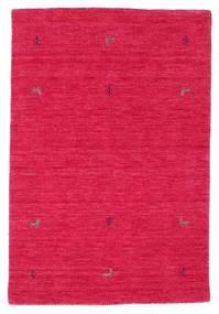 Gabbeh Loom Two Lines - Cerise Matta 100X160 Modern Röd/Rosa (Ull, Indien)