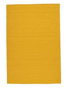 Kelim Loom - Gul Matta 200X300 Äkta Modern Handvävd Orange/Gul (Ull, Indien)