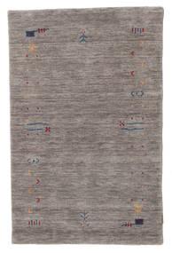 Gabbeh Loom Frame - Grå Matta 100X160 Modern Mörkgrå/Ljusgrå (Ull, Indien)