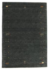 Gabbeh Loom Frame - Mörkgrå/Grön Matta 160X230 Modern Mörkgrön (Ull, Indien)
