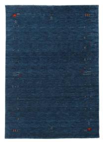 Gabbeh Loom Frame - Mörkblå Matta 160X230 Modern Mörkblå (Ull, Indien)