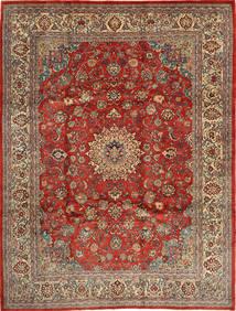 Mahal Matta 270X363 Äkta Orientalisk Handknuten Ljusbrun/Brun Stor (Ull, Persien/Iran)