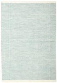 Seaby - Blå Matta 160X230 Äkta Modern Handvävd Turkosblå/Vit/Cremefärgad (Ull, Indien)