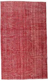 Colored Vintage Matta 165X279 Äkta Modern Handknuten Röd/Roströd (Ull, Turkiet)