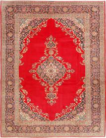Keshan Matta 293X388 Äkta Orientalisk Handknuten Röd/Ljusbrun Stor (Ull, Persien/Iran)