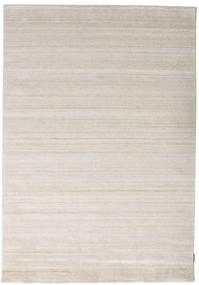 Bambu Silke Loom - Beige Matta 160X230 Modern Ljusgrå ( Indien)