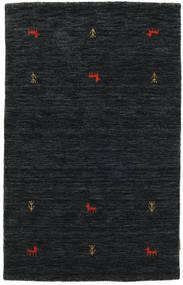 Gabbeh Loom Two Lines - Svart/Grå Matta 100X160 Modern Svart (Ull, Indien)