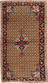 Koliai Patina Matta 100X183 Äkta Orientalisk Handknuten Mörkbrun/Ljusbrun (Ull, Persien/Iran)