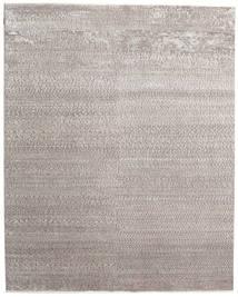 Himalaya Bambu Silke Matta 247X310 Äkta Modern Handknuten Ljusgrå ( Indien)