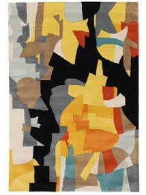 Rasmus Matta 160X230 Modern Svart/Ljusbrun (Ull, Indien)