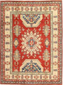 Kazak Matta 197X263 Äkta Orientalisk Handknuten Roströd/Mörkbeige (Ull, Pakistan)