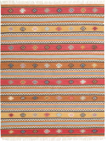 Kelim - Nezzim - Nezzim Matta 170X240 Äkta Modern Handvävd Ljusbrun/Ljusgrå ( Indien)