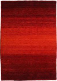 Gabbeh Rainbow - Röd Matta 160X230 Modern Roströd/Mörkröd/Mörkbrun (Ull, Indien)