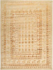 Roma Moderna Collection Matta 303X409 Äkta Modern Handknuten Mörkbeige/Beige Stor ( Indien)