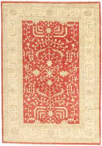 Ziegler Matta 165X239 Äkta Orientalisk Handknuten Beige/Roströd (Ull, Pakistan)