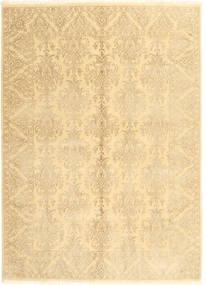 Tabriz Royal Matta 172X238 Äkta Orientalisk Handknuten Beige/Ljusbrun/Mörkbeige ( Indien)