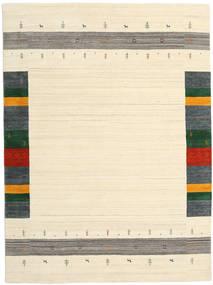 Loribaf Loom Designer - Beige Matta 210X290 Modern Beige/Mörkbeige (Ull, Indien)