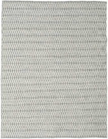 Kelim Long Stitch - Grå Matta 190X240 Äkta Modern Handvävd Ljusgrå/Beige (Ull, Indien)
