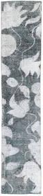 Colored Vintage Matta 68X363 Äkta Modern Handknuten Hallmatta Blå/Vit/Cremefärgad (Ull, Persien/Iran)