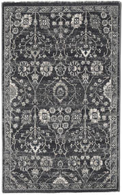 Zanjan - Mörkgrå Matta 100X160 Modern Mörkgrå/Ljusgrå ( Turkiet)