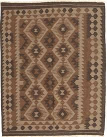 Kelim Maimane Matta 148X187 Äkta Orientalisk Handvävd Brun/Mörkbrun (Ull, Afghanistan)