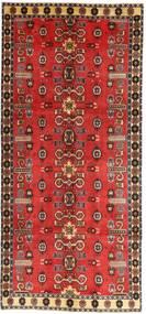Ghashghai Patina Matta 135X307 Äkta Orientalisk Handknuten Hallmatta Mörkröd/Roströd (Ull, Persien/Iran)