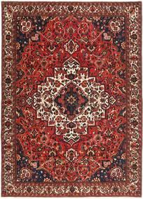 Bakhtiar Patina Matta 255X357 Äkta Orientalisk Handknuten Mörkröd/Mörkbrun Stor (Ull, Persien/Iran)