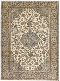Keshan Patina Matta 230X325 Äkta Orientalisk Handknuten Ljusgrå/Ljusbrun (Ull, Persien/Iran)