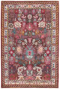 Mirzam - Mörk Lila Matta 160X230 Modern Mörkröd/Mörkbrun ( Turkiet)