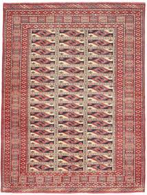 Turkaman Patina Matta 131X177 Äkta Orientalisk Handknuten Mörkröd/Brun (Ull, Persien/Iran)
