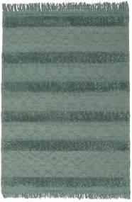 Kelim Berber Ibiza - Dimgrön Matta 160X230 Äkta Modern Handvävd Grön/Mörkgrön (Ull, Indien)