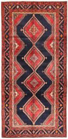 Koliai Matta 151X310 Äkta Orientalisk Handknuten Hallmatta Mörkröd/Mörklila (Ull, Persien/Iran)