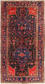 Koliai Matta 156X293 Äkta Orientalisk Handknuten Hallmatta Mörkröd/Mörkgrå (Ull, Persien/Iran)
