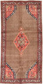 Koliai Matta 148X291 Äkta Orientalisk Handknuten Hallmatta Mörkröd/Brun (Ull, Persien/Iran)