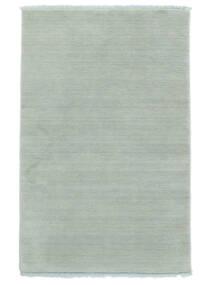 Handloom Fringes - Isblå Matta 140X200 Modern Ljusblå (Ull, Indien)