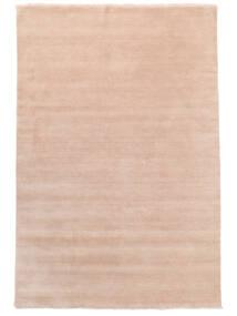 Handloom Fringes - Rosenrosa Matta 200X300 Modern Ljusrosa/Beige (Ull, Indien)