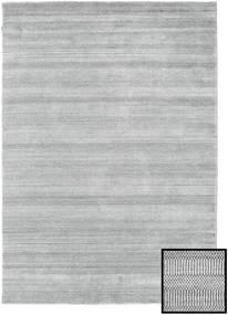 Bambu Grass - Grå Matta 160X230 Modern Ljusgrå (Ull/Bambusilke, Turkiet)