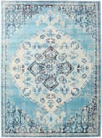 Turid - Blå Matta 160X230 Modern Ljusblå/Vit/Cremefärgad ( Turkiet)