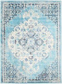 Turid - Blå Matta 140X200 Modern Ljusblå/Turkosblå ( Turkiet)