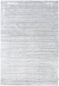 Bambu Silke Loom - Grå Matta 200X300 Modern Vit/Cremefärgad/Ljusgrå ( Indien)