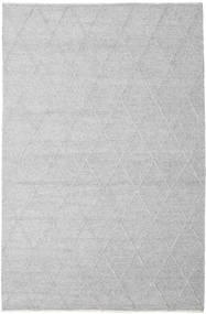 Svea - Silvergrå Matta 200X300 Äkta Modern Handvävd Ljusgrå/Vit/Cremefärgad (Ull, Indien)