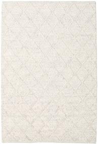 Rut - Isgrå Melerad Matta 160X230 Äkta Modern Handvävd Ljusgrå/Beige/Vit/Cremefärgad (Ull, Indien)